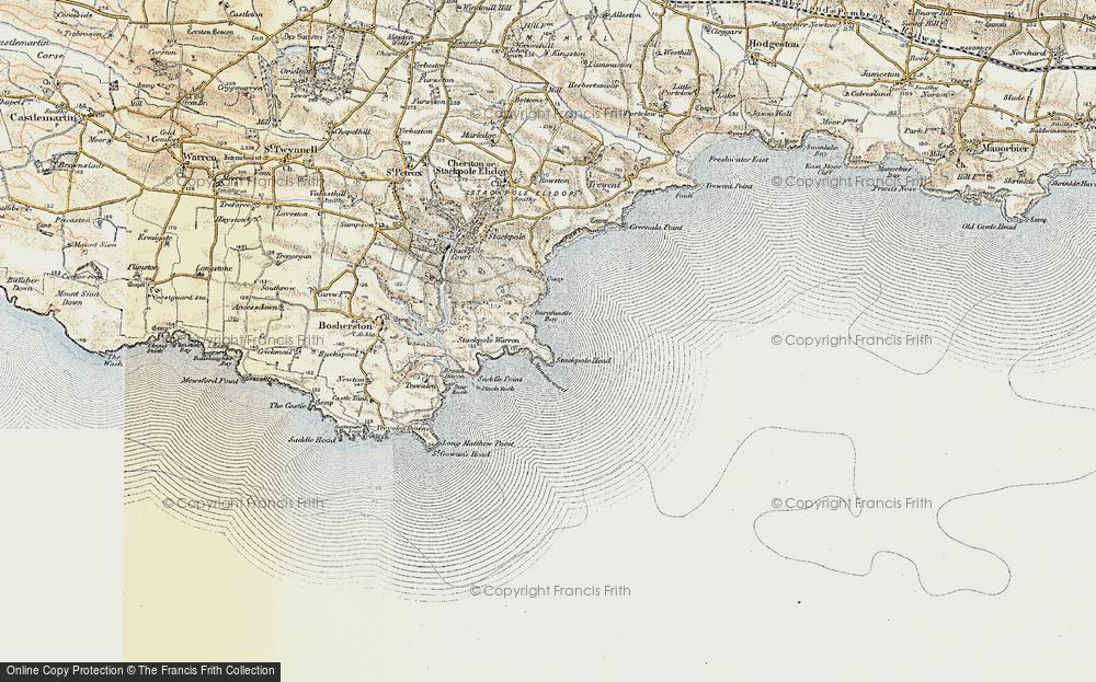 Barafundle Bay, 1901-1912