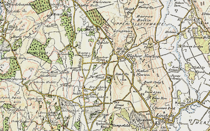 Old map of Barber Green in 1903-1904