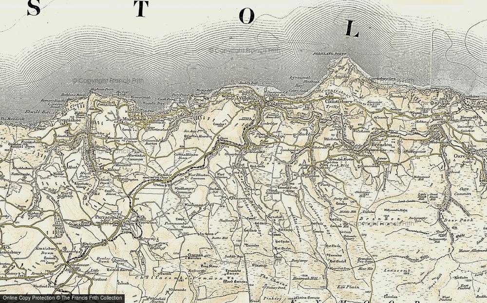 Barbrook, 1900