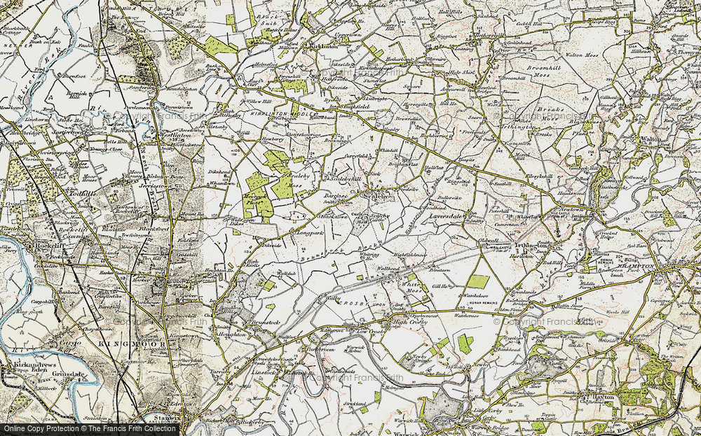 Old Map of Barclose, 1901-1904 in 1901-1904