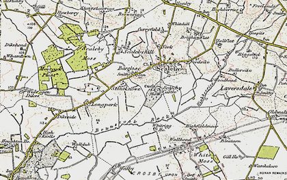 Old map of Barclose in 1901-1904