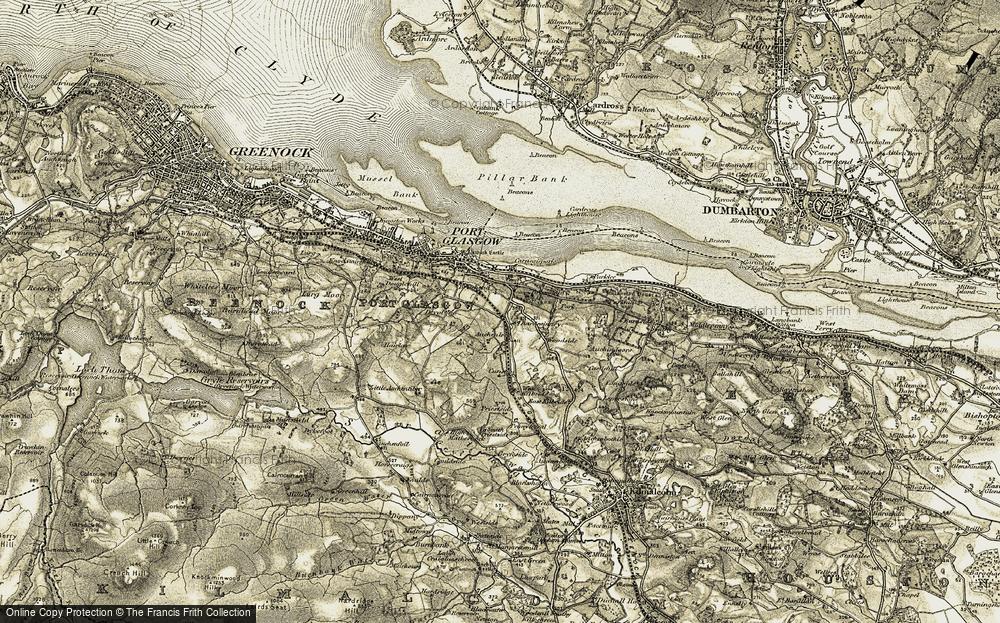 Bardrainney, 1905-1906