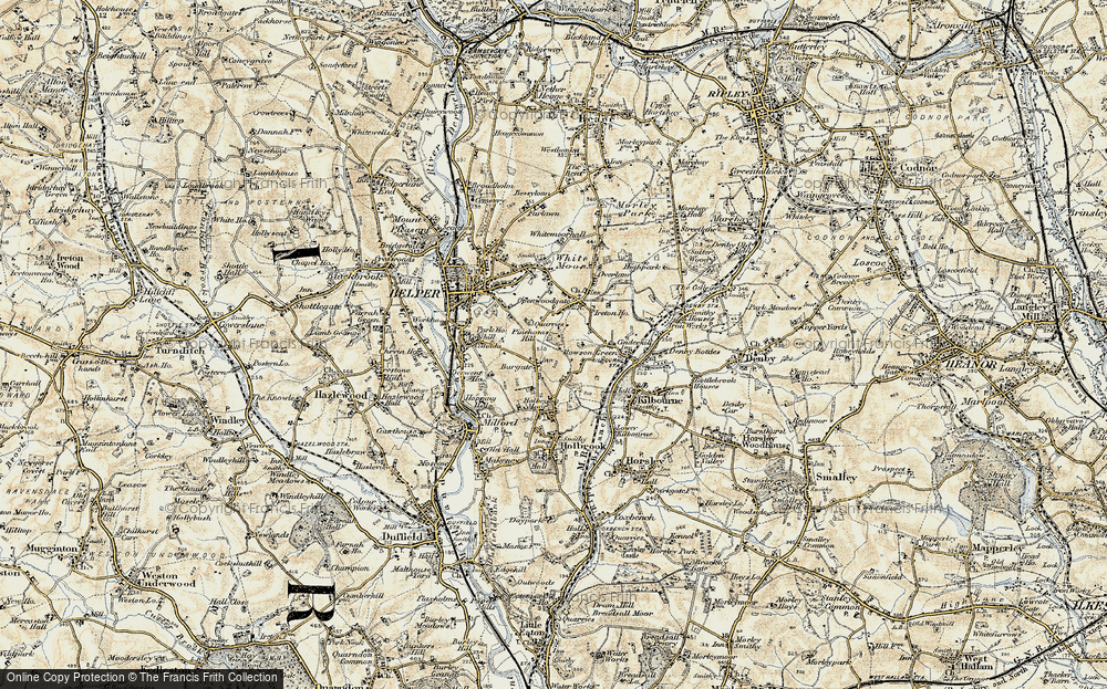 Old Map of Bargate, 1902 in 1902