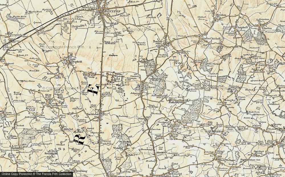 Barkway, 1898-1901