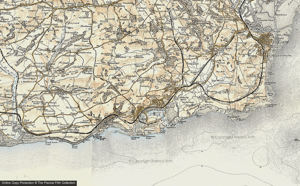 Old Maps of Barry Francis Frith