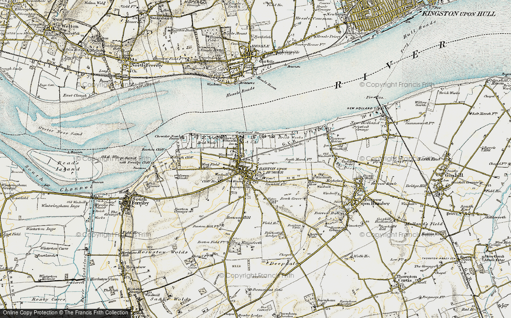 Old Map of Barton-Upon-Humber, 1903-1908 in 1903-1908