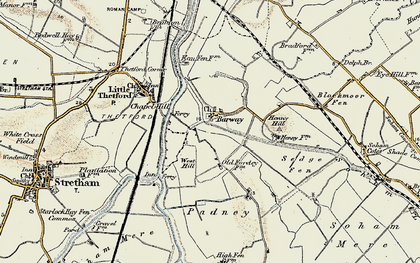 Old map of Barway in 1901
