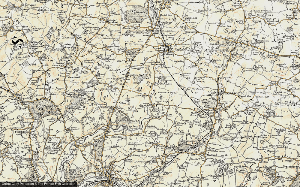 Old Map of Barwick, 1898-1899 in 1898-1899