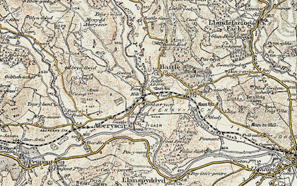 Old map of Battle in 1900-1901
