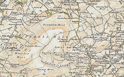 Old map of Beacon in 1903-1904