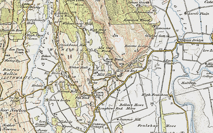 Old map of White Scar in 1903-1904