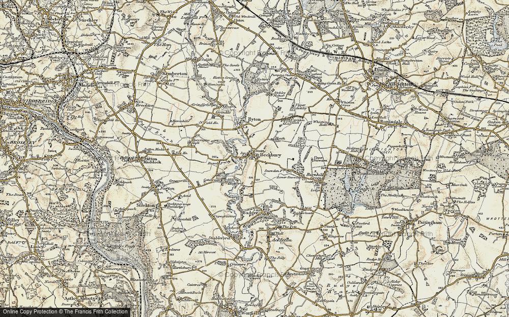 Beckbury, 1902