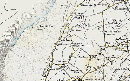 Old map of Beckfoot in 1901-1904