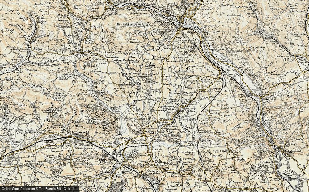 Beddau, 1899-1900