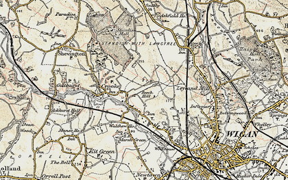 Old map of Beech Hill in 1903