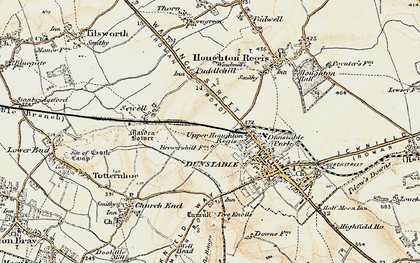 Old map of Beecroft in 1898-1899