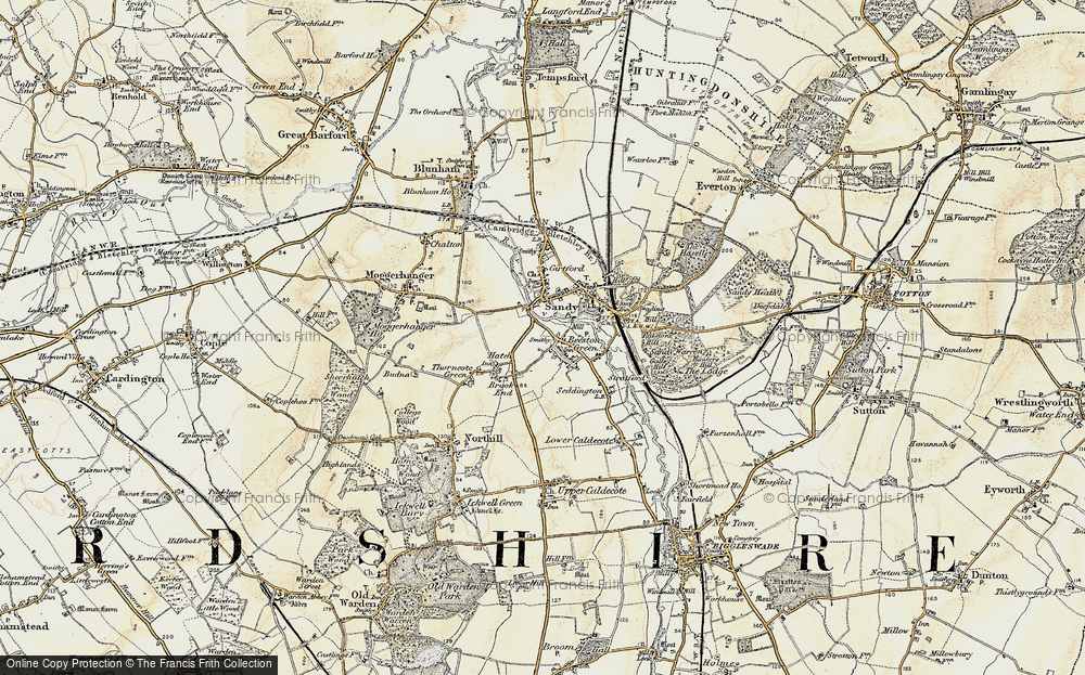 Old Map of Beeston, 1898-1901 in 1898-1901