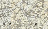 Map of Beeston, 1898-1901