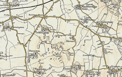 Old map of Bengrove in 1899-1900