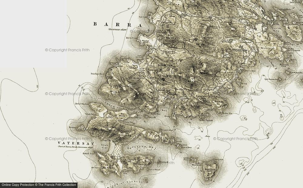 Bentangaval, 1911