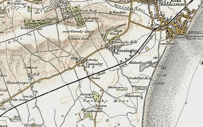 Old map of Wilsthorpe in 1903-1904