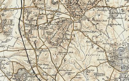 Old map of Larkton Hill in 1902