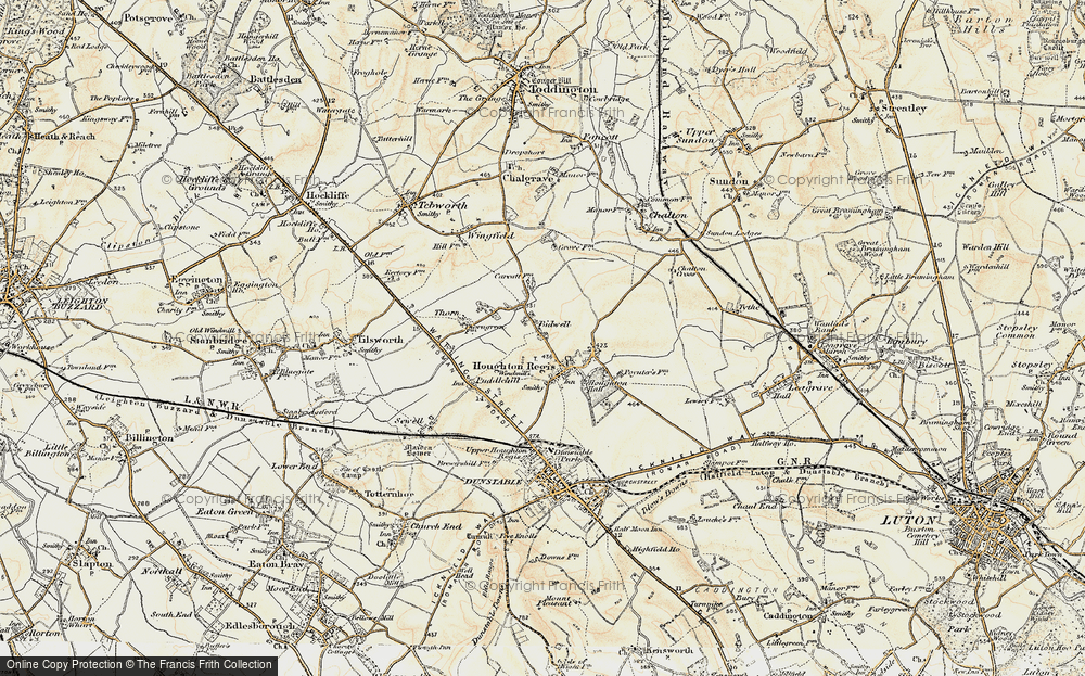 Old Map of Bidwell, 1898-1899 in 1898-1899
