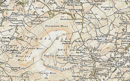 Old map of Big End in 1903-1904
