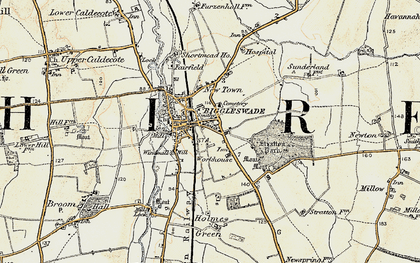 Old map of Biggleswade in 1898-1901