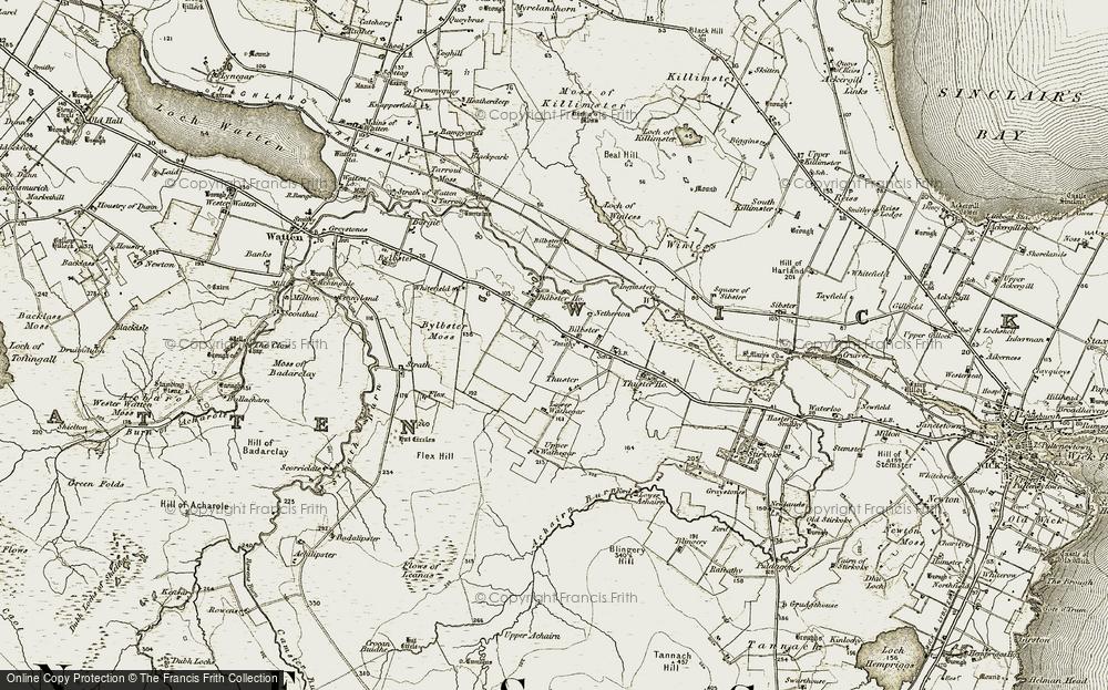 Bilbster, 1911-1912