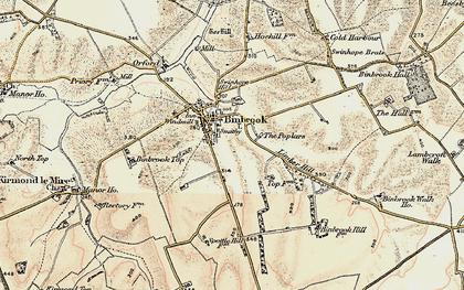 Old map of Binbrook in 1903