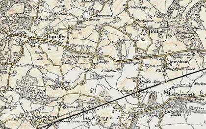 Old map of Birdwood in 1898-1900