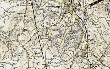 Old map of Yarrow Valley Park in 1903