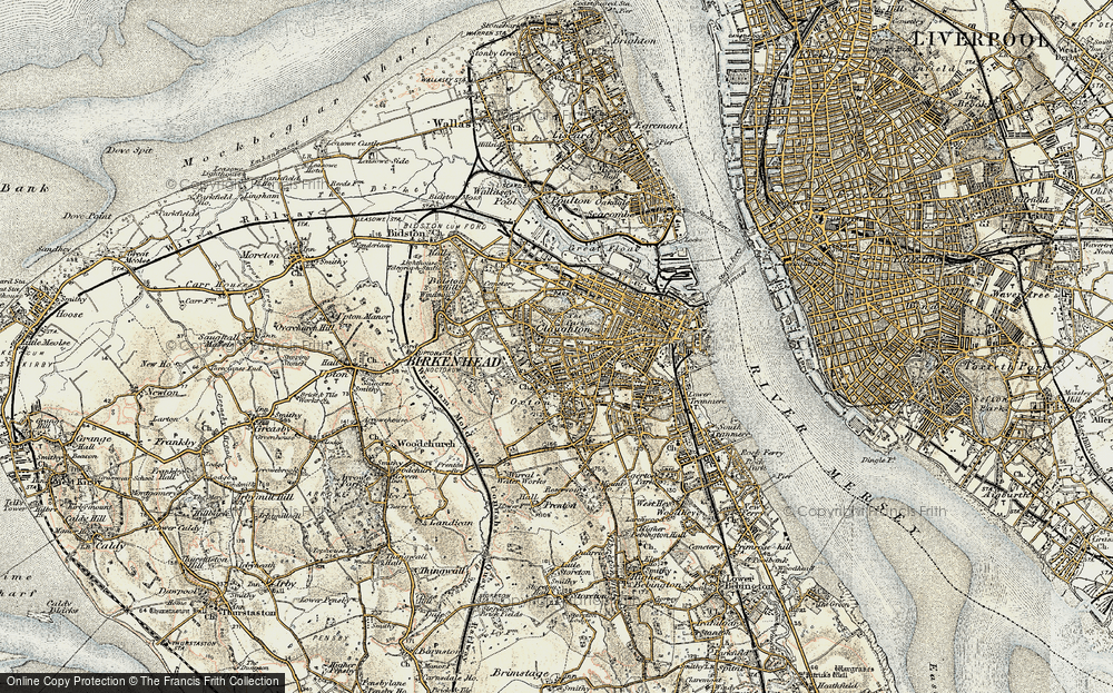 Old Maps of Birkenhead - Francis Frith