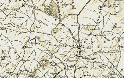 Old map of Appleby Row in 1905