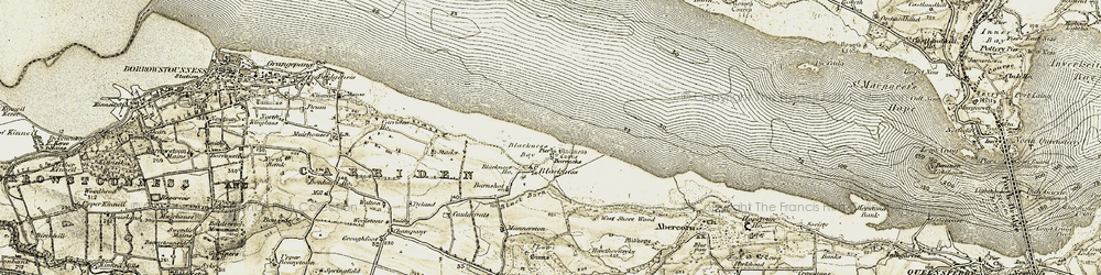 Old map of Wester Shore Wood in 1904-1906