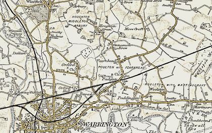 Old map of Blackwood in 1903