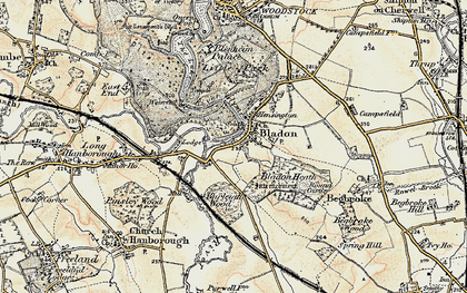Old map of Lince, The in 1898-1899