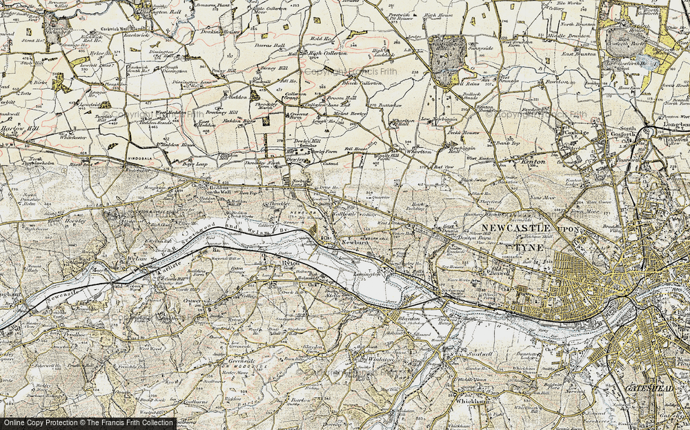 Blucher, 1901-1903