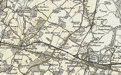 Old map of Bobbing in 1897-1898