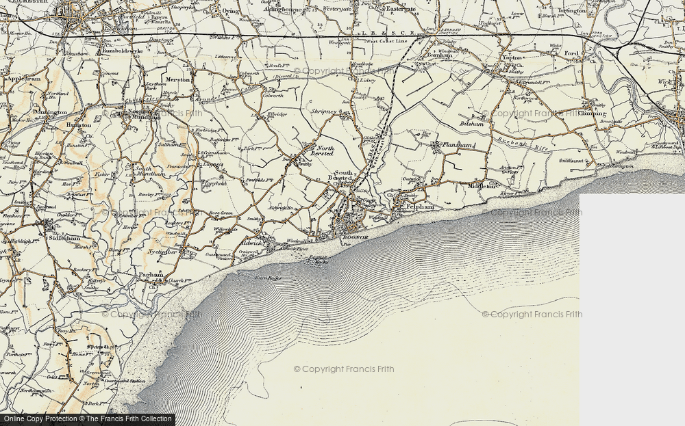 Old Maps of Bognor Regis Francis Frith