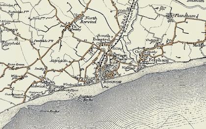 Old map of Bognor Regis in 1897-1899