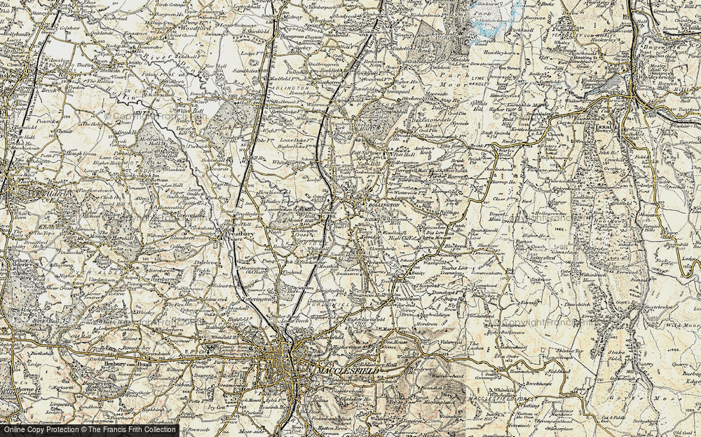 Old Maps of White Nancy Francis Frith