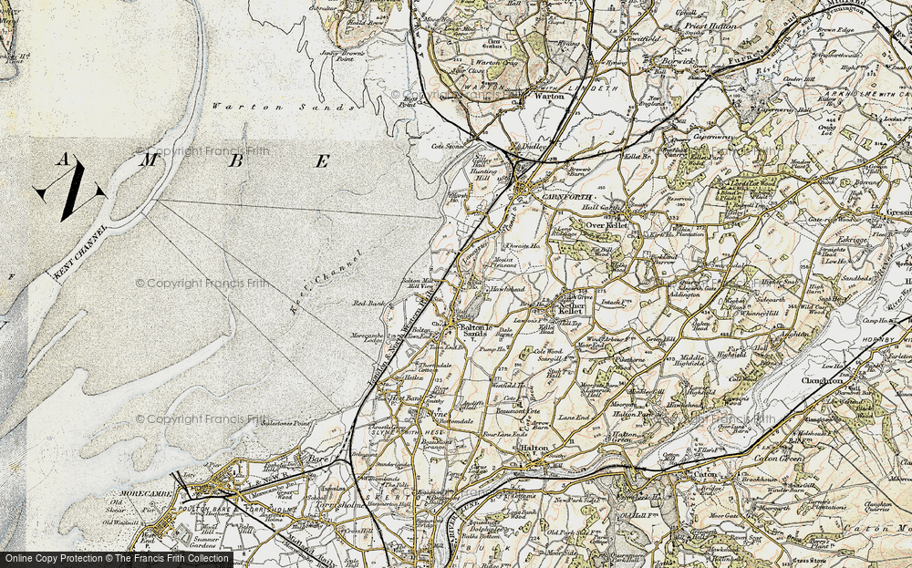 Old Maps Of Bolton Le Sands Francis Frith