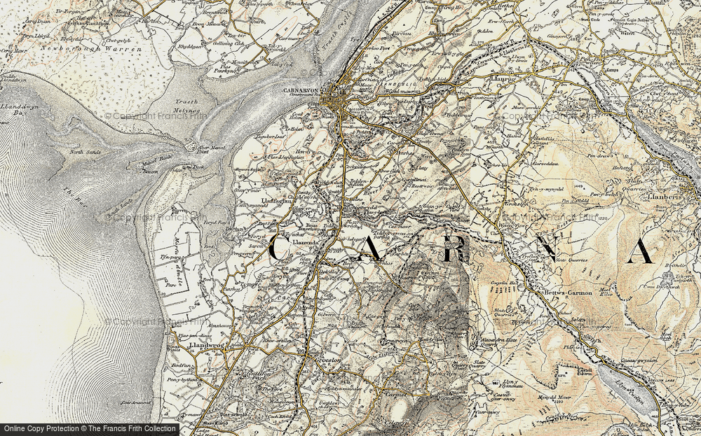 Old Map of Bontnewydd, 1903-1910 in 1903-1910