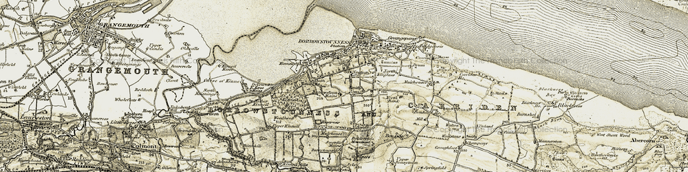 Old map of Wester Muirhouse in 1904-1906
