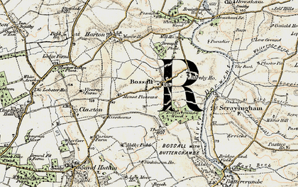 Old map of Aldby Field Ho in 1903-1904