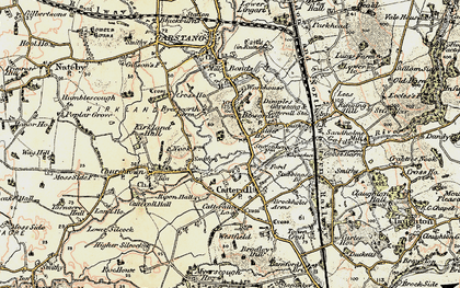 Old map of Bowgreave in 1903-1904