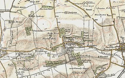 Old map of Boynton in 1903-1904