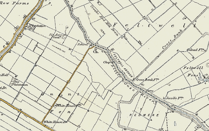 Old map of Brandon Bank in 1901